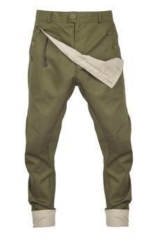 Spodnie oliwkowe od MADOX design