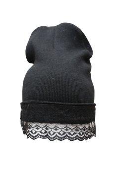 czapki czarne od Not Anyone