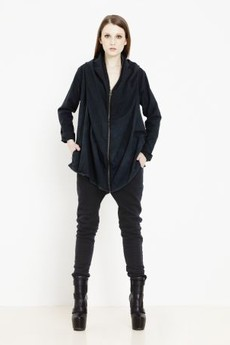 Bluzy czarne od AGI JENSEN DESIGN