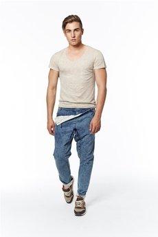 Spodnie blady niebieski od MADOX design