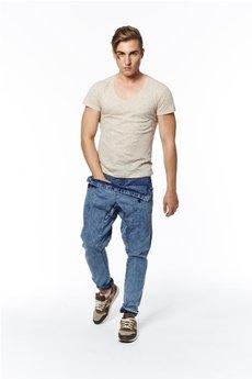 Spodnie niebieskie od MADOX design