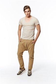 Spodnie beżowe od MADOX design