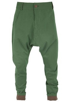 Spodnie soczysta zieleń od MADOX design