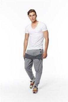 Spodnie jasnoszare od MADOX design