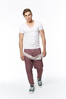 Spodnie bordowe od MADOX design