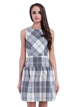 Sukienki szare od Manifiq&Co.