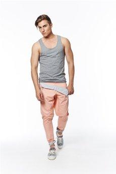 Spodnie łososiowe od MADOX design