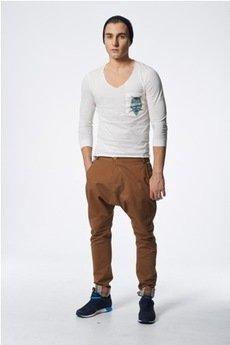 Spodnie brązowe od MADOX design