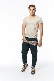 Spodnie ciemny zielony od MADOX design