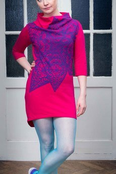 AgaBrwi | tunika Gwiazda Róż - AgaBrwi Design - Dresses and tunics