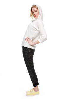 Spodnie lniane - Kamila Gronner - Pants