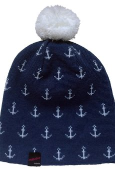 STILL SAILING beanie NAVY  - MALENKA HEADWEAR - Hats